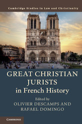 Great Christian Jurists in French History