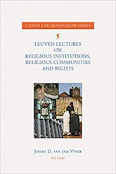 Leuven Lectures on Religious Institutions,